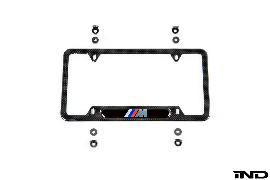 BMW ///M Carbon Fiber License Plate Frame 7