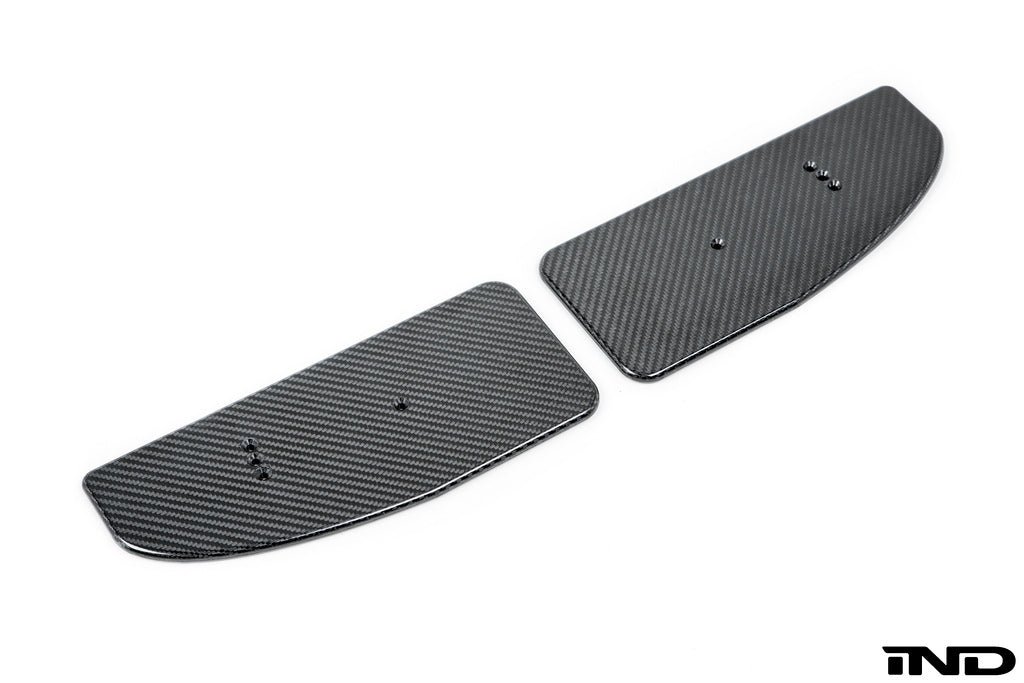 Cartridge Limited F8X Carbon Fiber Wing Endplates 8