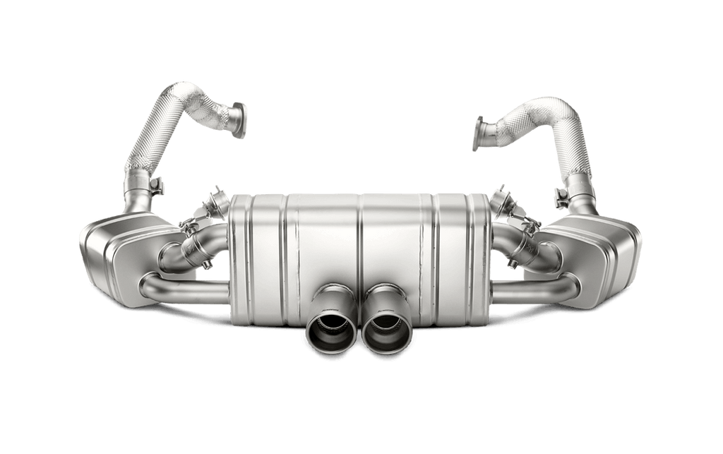 Akrapovic 981 cayman gt4 boxster spyder slip on exhaust system - iND Distribution
