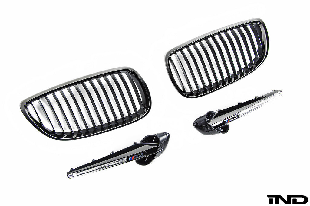 BMW OEM E9X M3 Edition Grille Package 1
