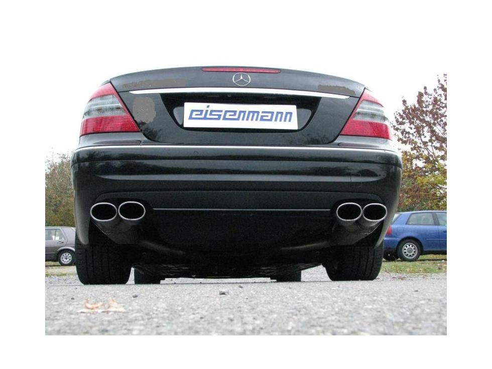 Eisenmann w211 e320 e500 performance exhaust - iND Distribution