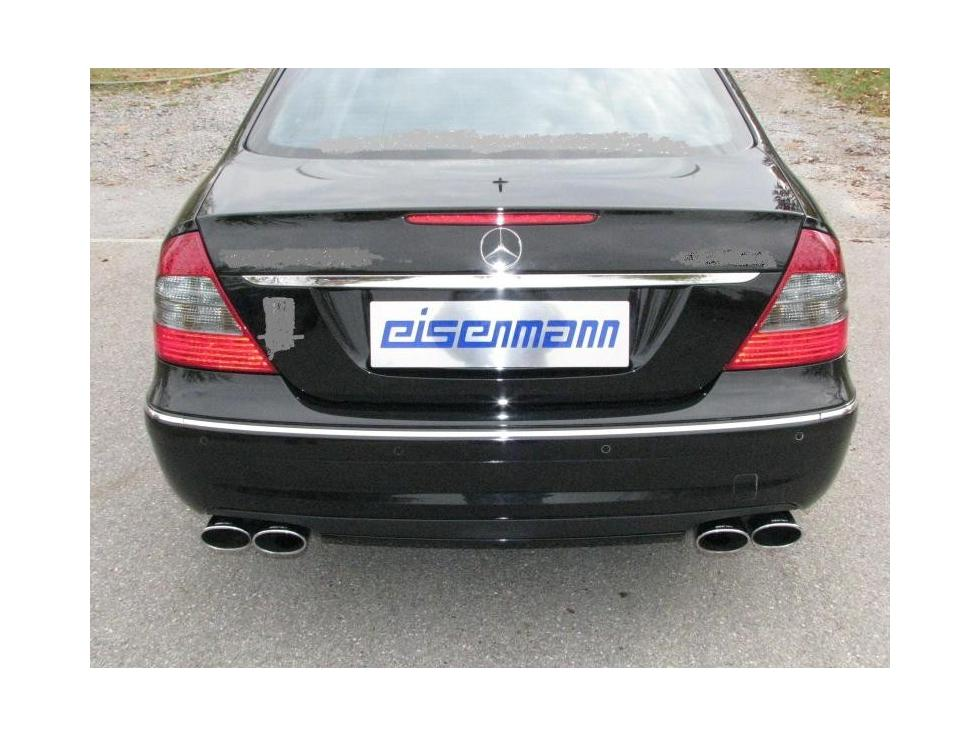 Eisenmann w211 diesel performance exhaust - iND Distribution