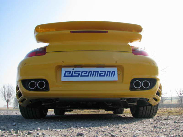 Eisenmann 997 turbo performance exhaust - iND Distribution