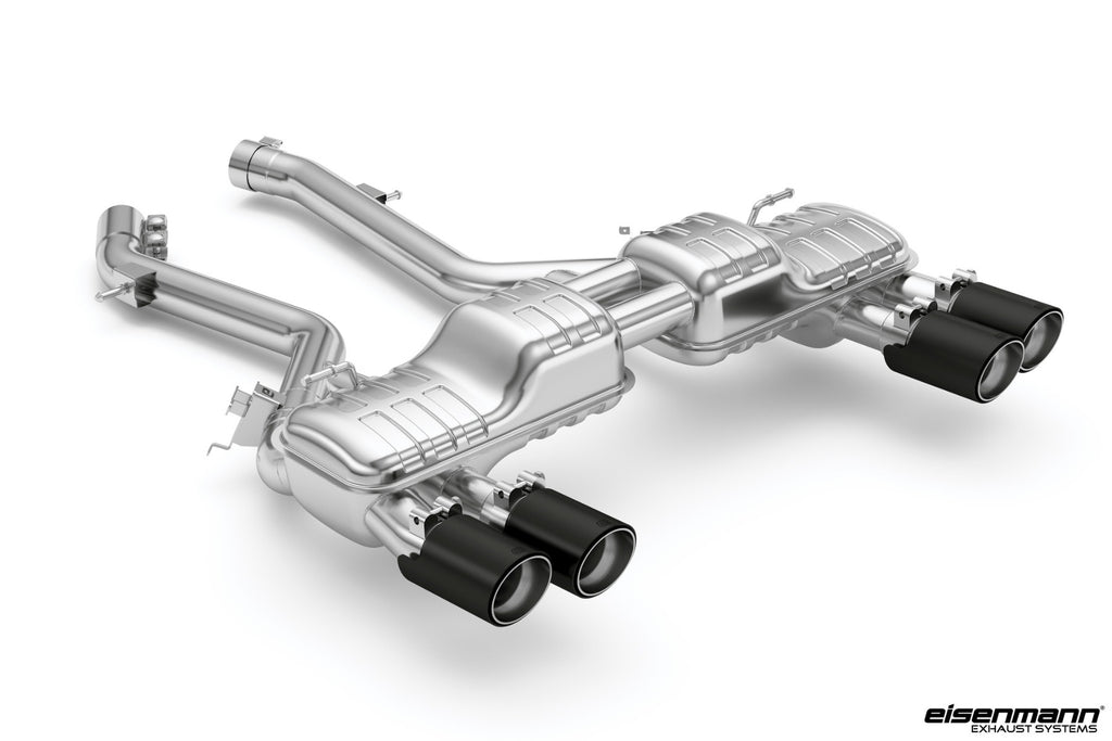Eisenmann f87 m2 competition valved exhaust system with carbon tips - iND Distribution