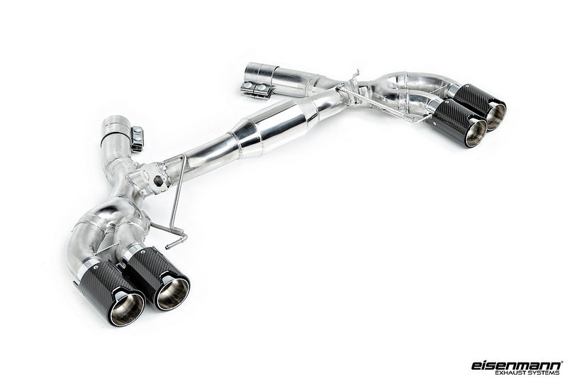 Eisenmann F90 M5 Race Performance Exhaust System with Carbon Tips 1