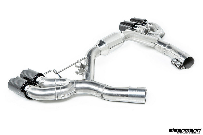 Eisenmann F90 M5 Race Performance Exhaust System with Carbon Tips 3