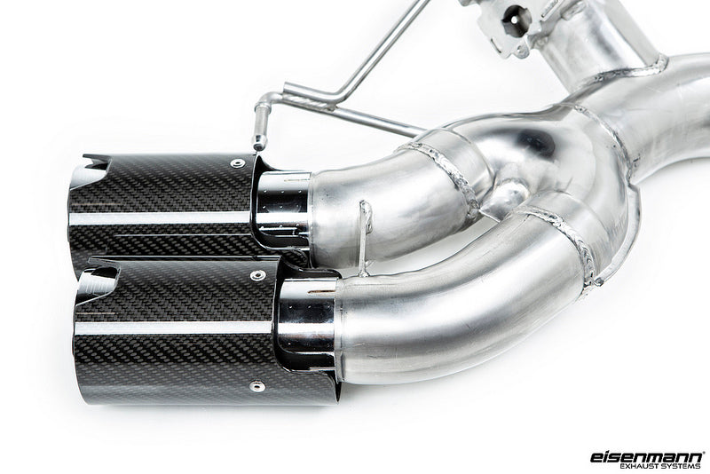 Eisenmann F90 M5 Race Performance Exhaust System with Carbon Tips 12