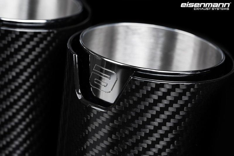 Eisenmann g30 m550i performance exhaust with carbon tips - iND Distribution