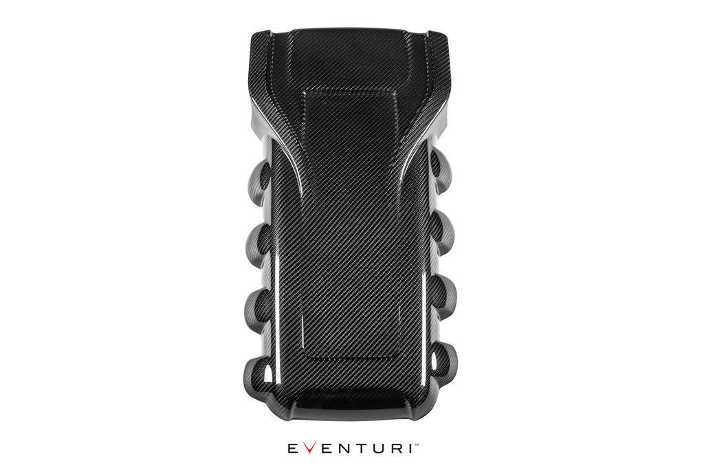 Eventuri audi rs4 rs5 engine cover black carbon - iND Distribution