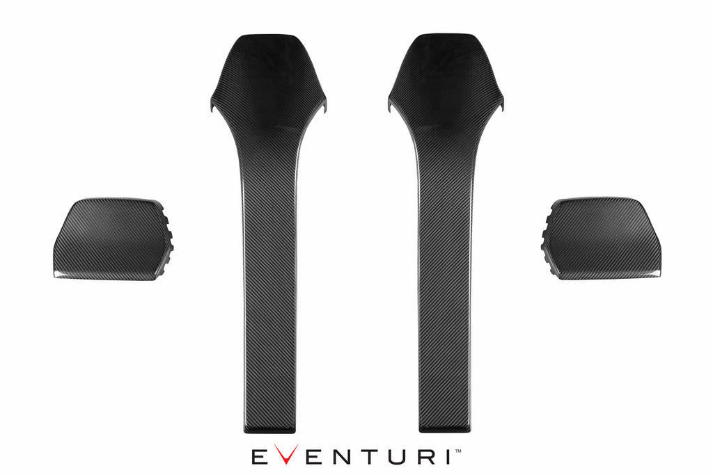Eventuri bmw f8x m3 m4 carbon seat back covers - iND Distribution