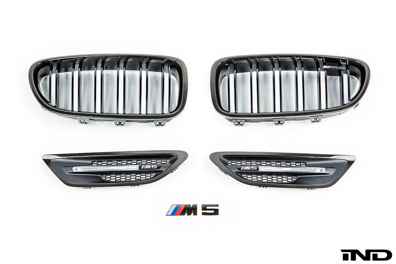 iND f10 m5 black chrome cosmetic package - iND Distribution