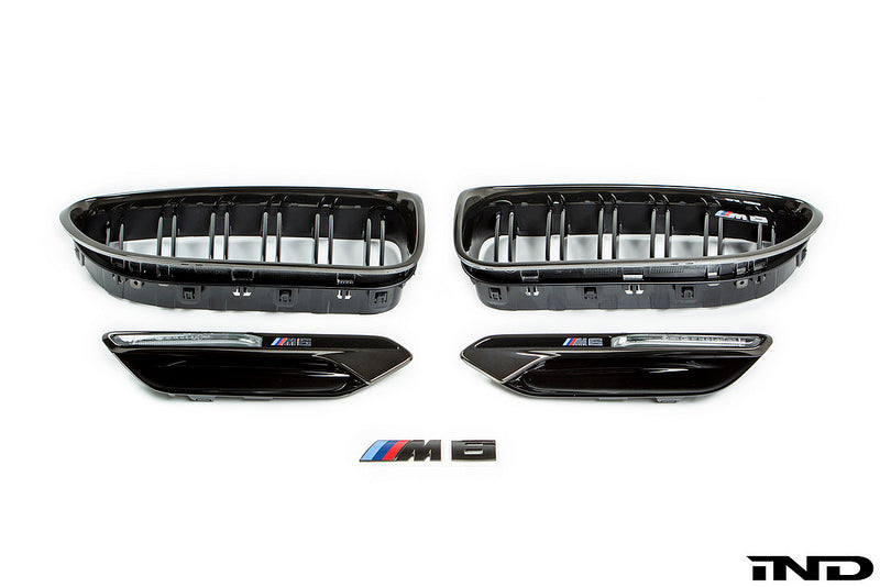 IND F06 / F12 / F13 M6 Black Chrome Cosmetic Package 1