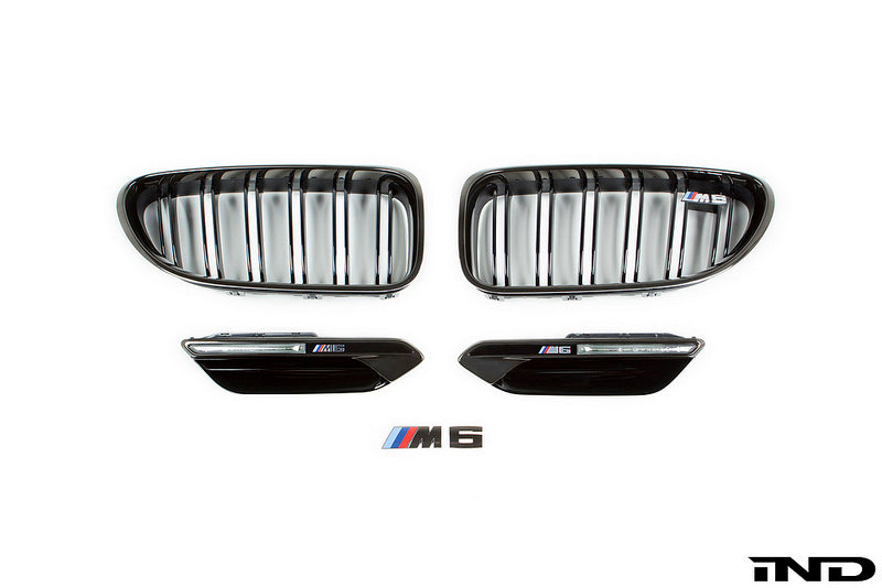 IND F06 / F12 / F13 M6 Black Chrome Cosmetic Package 2