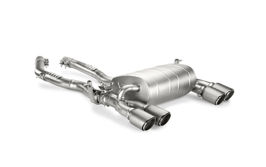 Akrapovic f8x m3 m4 slip on exhaust system - iND Distribution