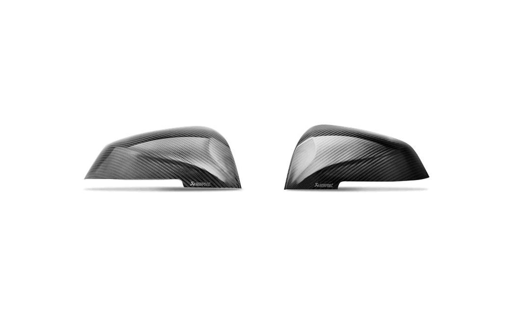 Akrapovic F87 M2 Carbon Mirror Cap Set - Gloss
