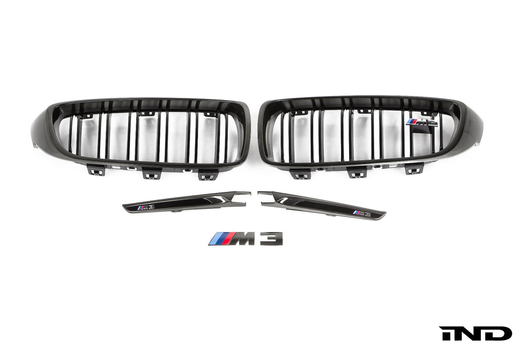 iND f8x m3 m4 black chrome cosmetic package - iND Distribution