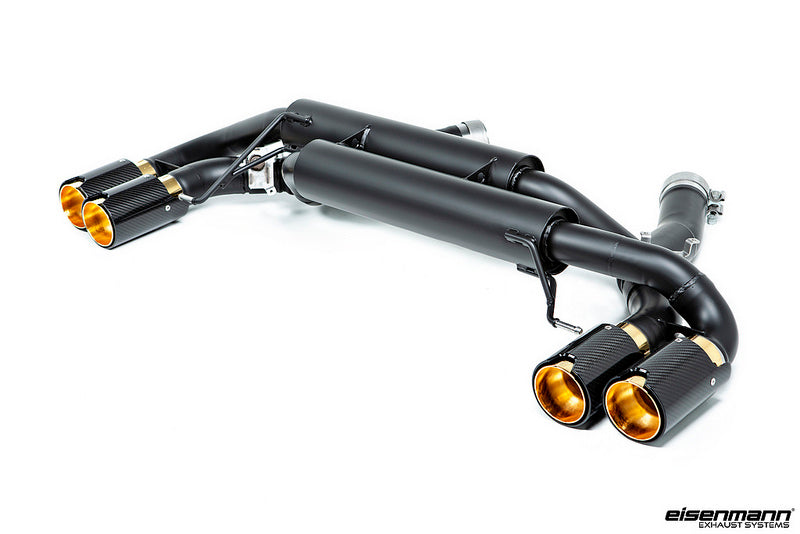 Eisenmann F90 M5 Black Series Performance Exhaust System 2