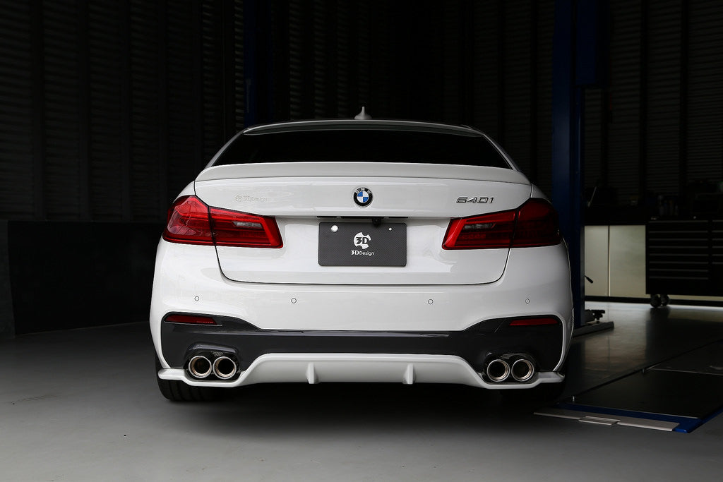 3D Design G30 5-Series Rear Diffuser 8