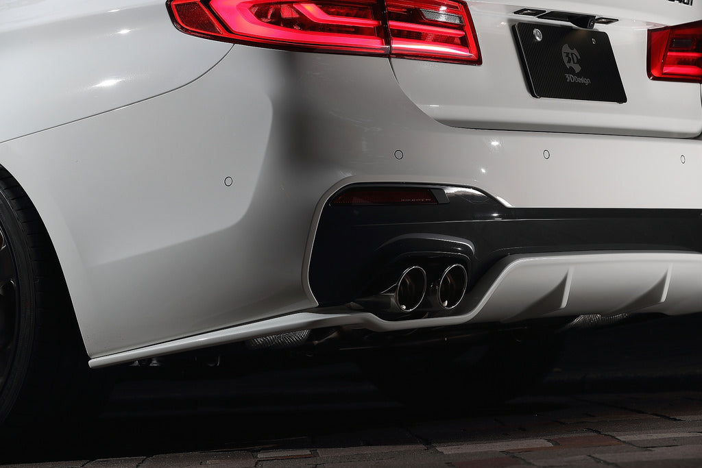 3D Design G30 5-Series Rear Diffuser 5