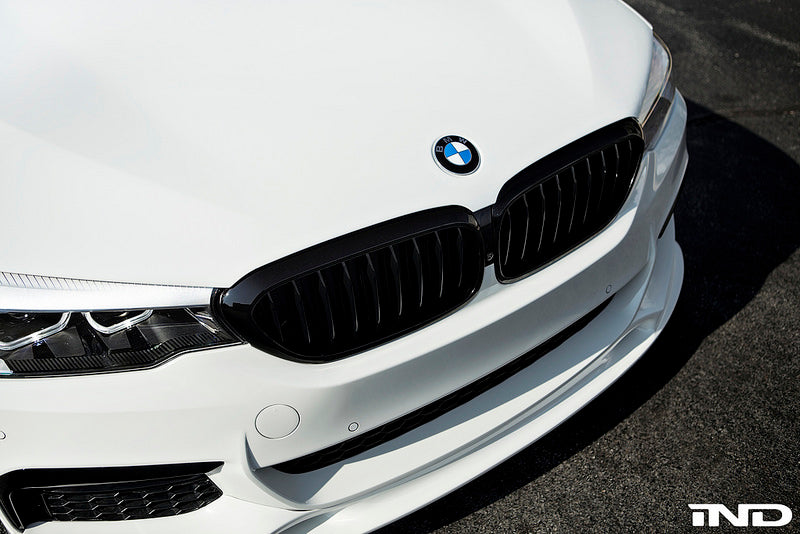 BMW M Performance G30 5-Series Black Front Grille Set 2