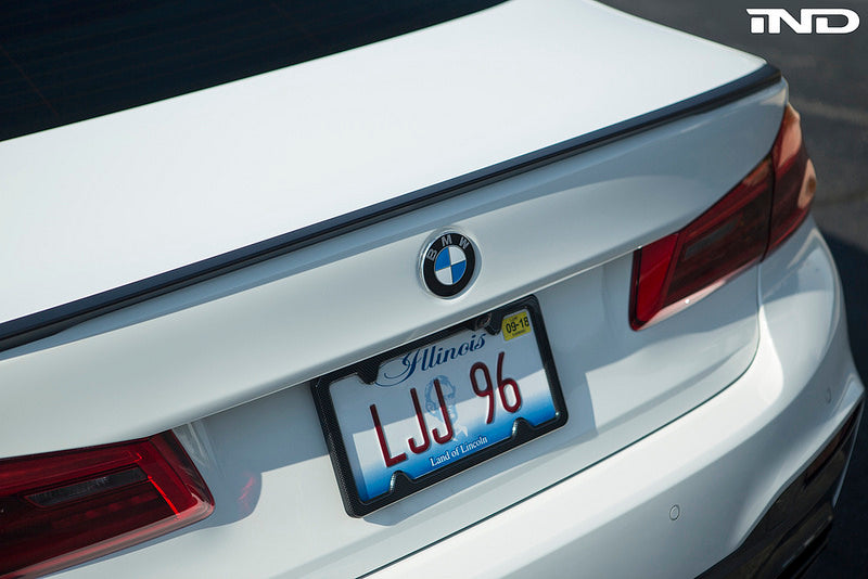 BMW m Performance g30 5 series trunk spoiler - iND Distribution