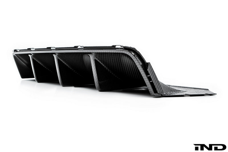 BMW m Performance f10 m5 carbon rear diffuser - iND Distribution