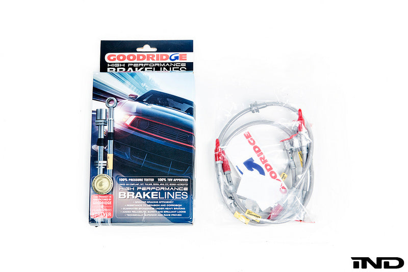 Goodridge f8x m3 m4 stainless steel brake lines - iND Distribution