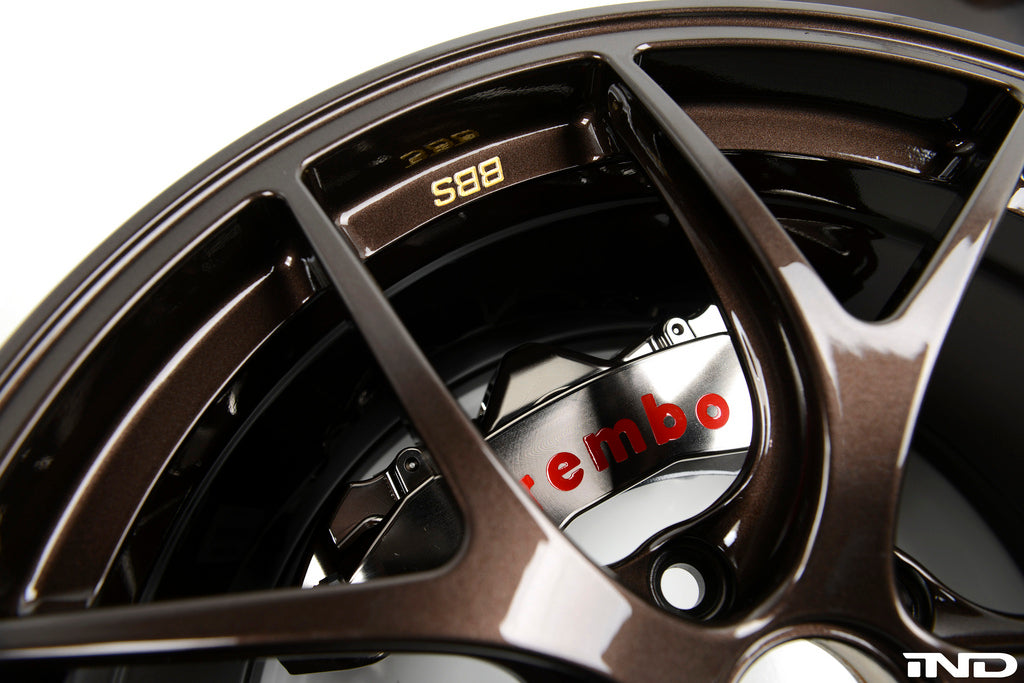 Brembo E9X M3 GT-R Big Brake Kit - 365mm 4