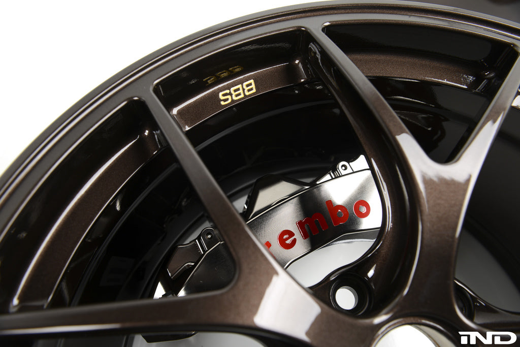 Brembo E9X M3 GT-R Big Brake Kit - 380mm 11