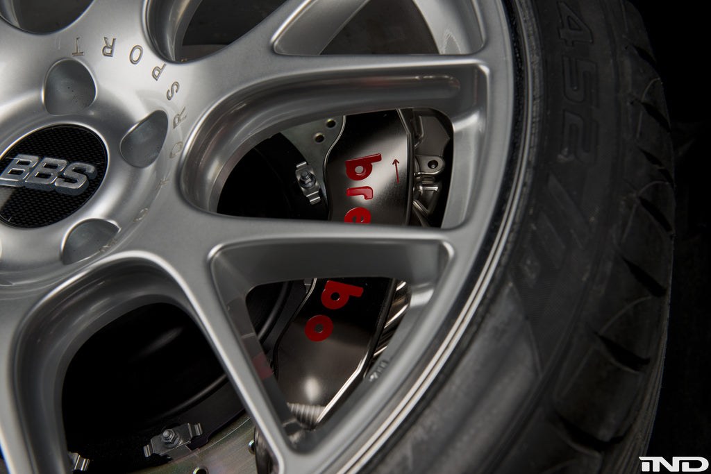 Brembo E9X M3 GT-R Big Brake Kit - 380mm 10