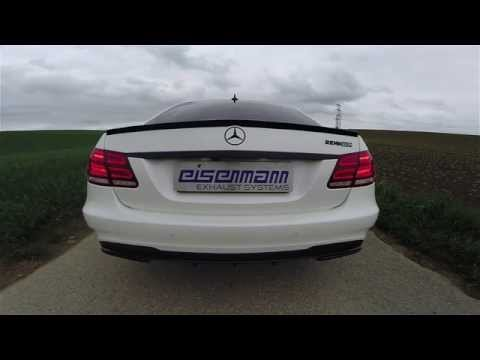Eisenmann W212 E63 AMG Performance Exhaust 2