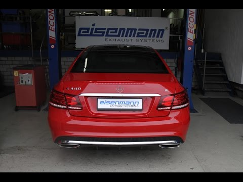 Eisenmann w207 e400 coupe cabrio performance exhaust - iND Distribution