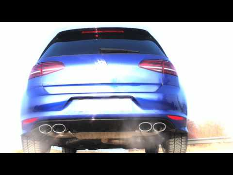 Eisenmann Golf R MKVII Performance Exhaust 6