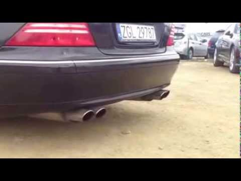 Eisenmann w220 s class performance exhaust - iND Distribution