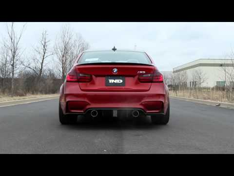 Eisenmann bmw f8x m3 m4 gt4 performance exhaust 2 x 90mm - iND Distribution