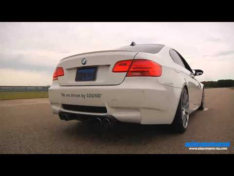 Eisenmann e92 e93 m3 black series performance exhaust - iND Distribution