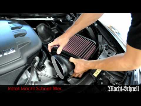 Macht Schnell e9x m3 performance air filter - iND Distribution