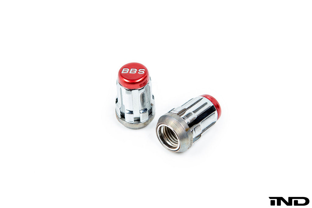 BBS mcgard lug nut set red - iND Distribution