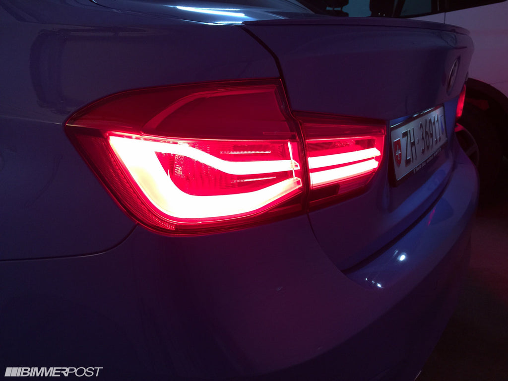 BMW OEM f80 m3 lci led tail lamp upgrade - iND Distribution