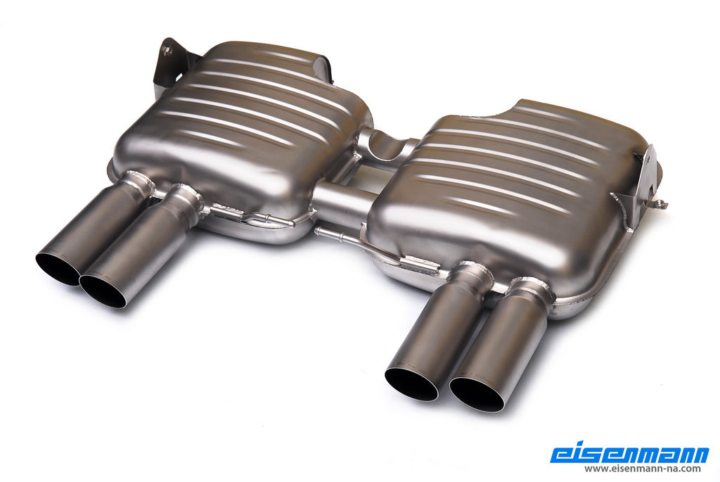 Eisenmann E90 M3 Inconel Performance Exhaust 5