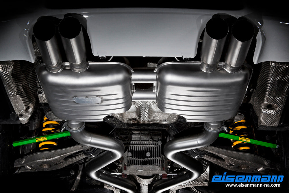 Eisenmann e92 e93 m3 inconel performance exhaust - iND Distribution