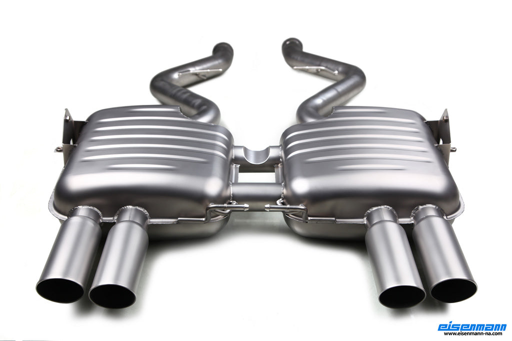 Eisenmann E90 M3 Inconel Performance Exhaust 2