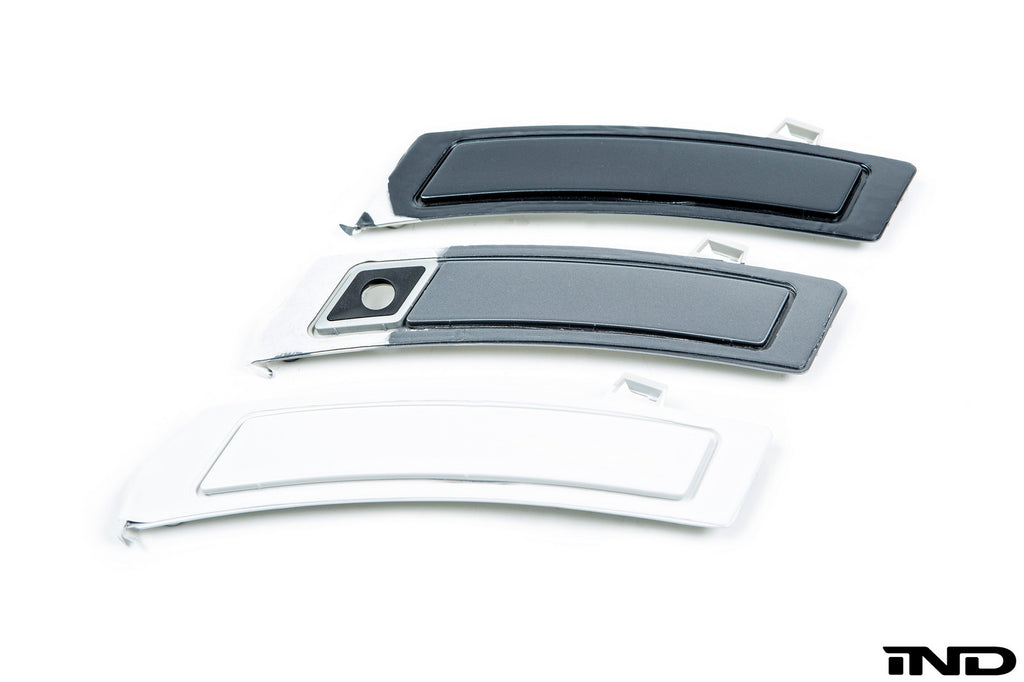 IND E70 X5 LCI Painted Front Reflector Set 4