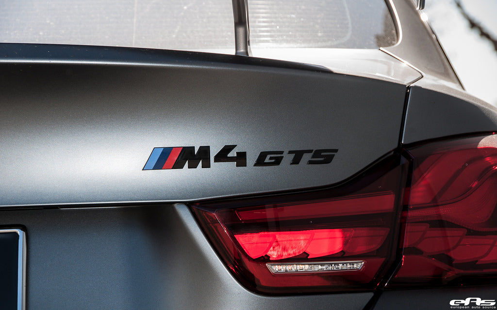 iND f82 m4 gts painted trunk emblem - iND Distribution