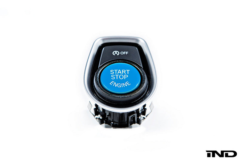iND f22 2 series polar blue start stop button - iND Distribution