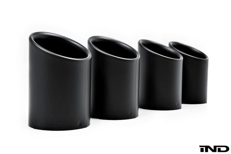 iND f8x m3 m4 coated exhaust tips - iND Distribution