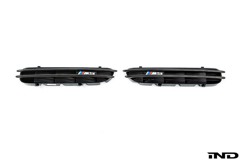 iND e60 m5 black chrome side marker set - iND Distribution