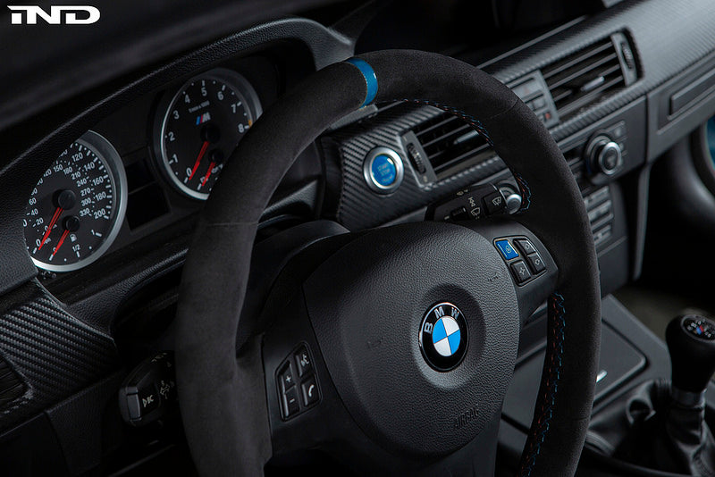 iND e9x m3 polar blue m steering wheel button 1 - iND Distribution