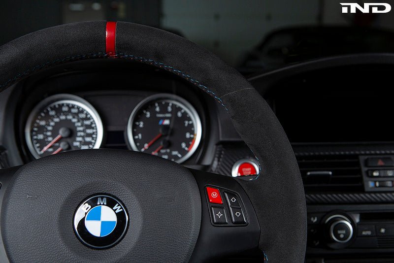 IND E9X M3 Red M Steering Wheel Button 3