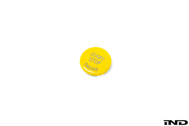 IND E60 M5 Yellow Start / Stop Button  4
